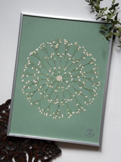 Домашний декор: мозаика из гербария
