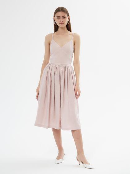 Платье / сарафан из 100% льна