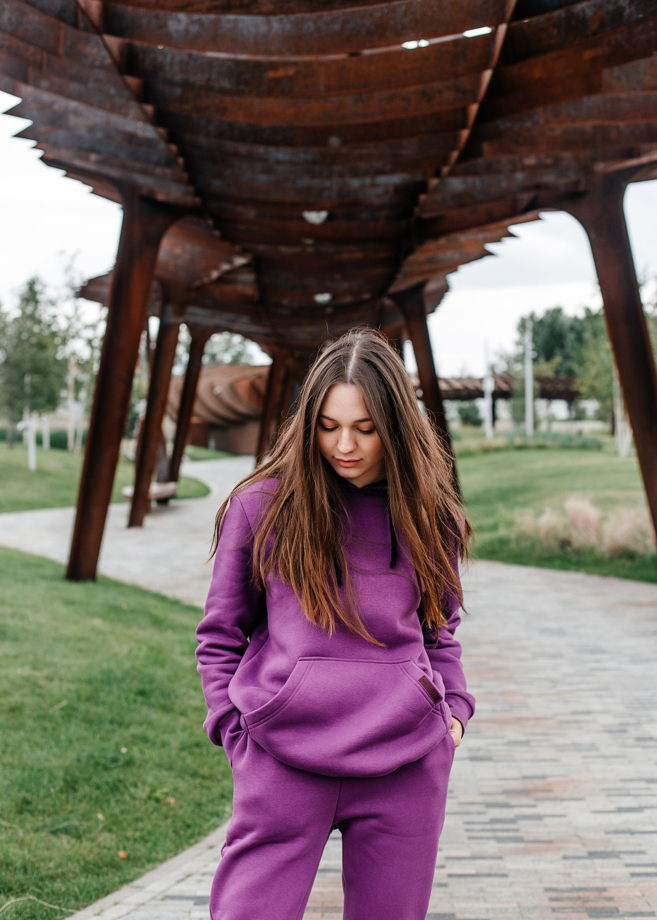 Спортивный костюм (фиолетовый)