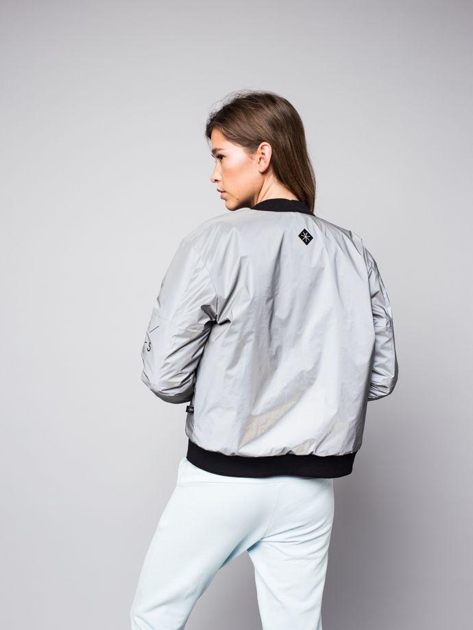 Светоотражающая куртка Бомбер