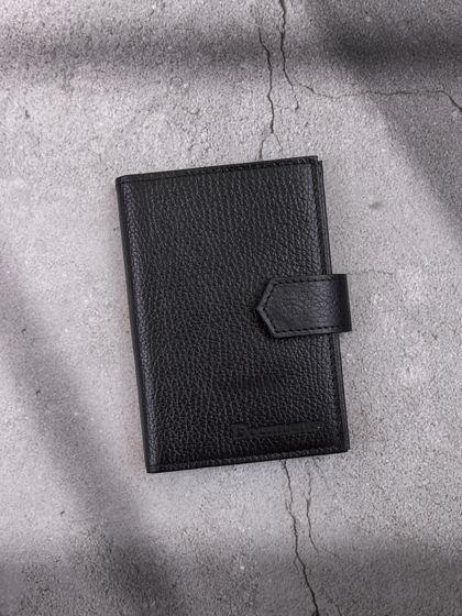 Обложка для автодокументов и паспорта Черный