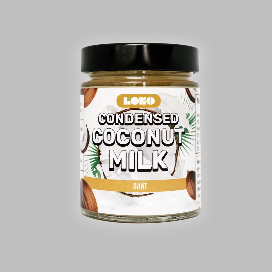 Сгущенка на кокосовом молоке Лайт