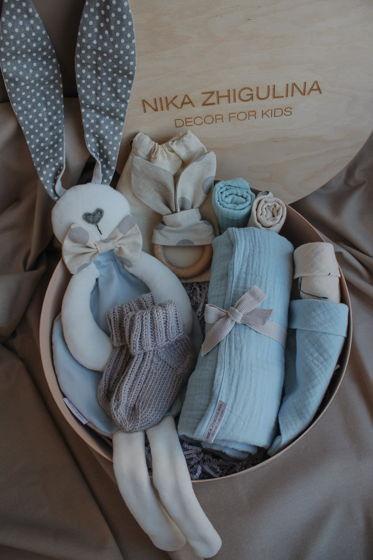 """Подарочный набор BabyBox от NZ """"голубой"""""""