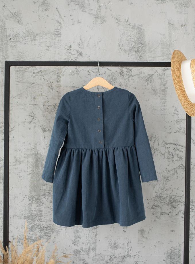 Платье для девочки (navy)