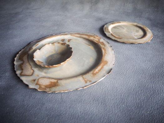Тарелка из серии Винтаж, 29 см.