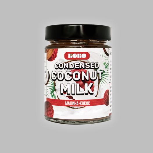 Сгущенка на кокосовом молоке МАЛИНА