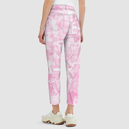 Джинсы женские U2Y MomFit Sustainable Pink