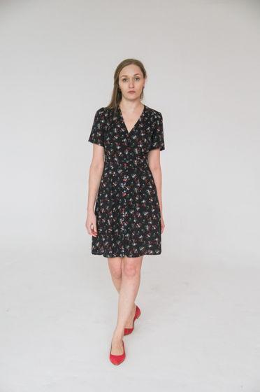 Платье на пуговицах. Размер 44