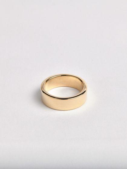 Позолоченное кольцо ШАЙБА