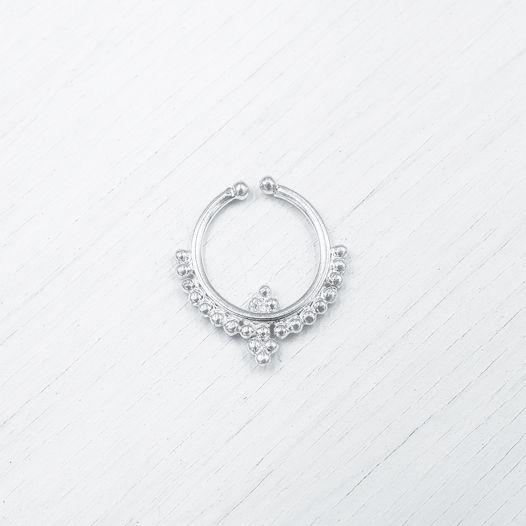 Септум обманка серебра 009