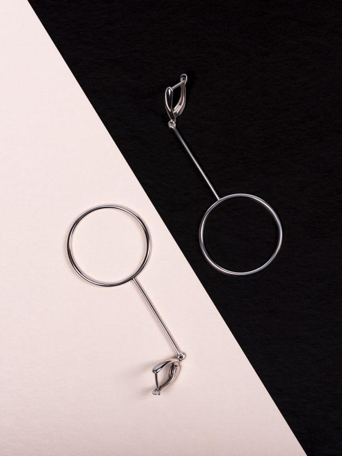 Серебряные серьги «Волшебное свидание»