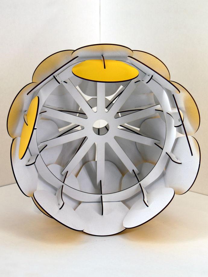 Umbra 45 желтый абажур конструктор