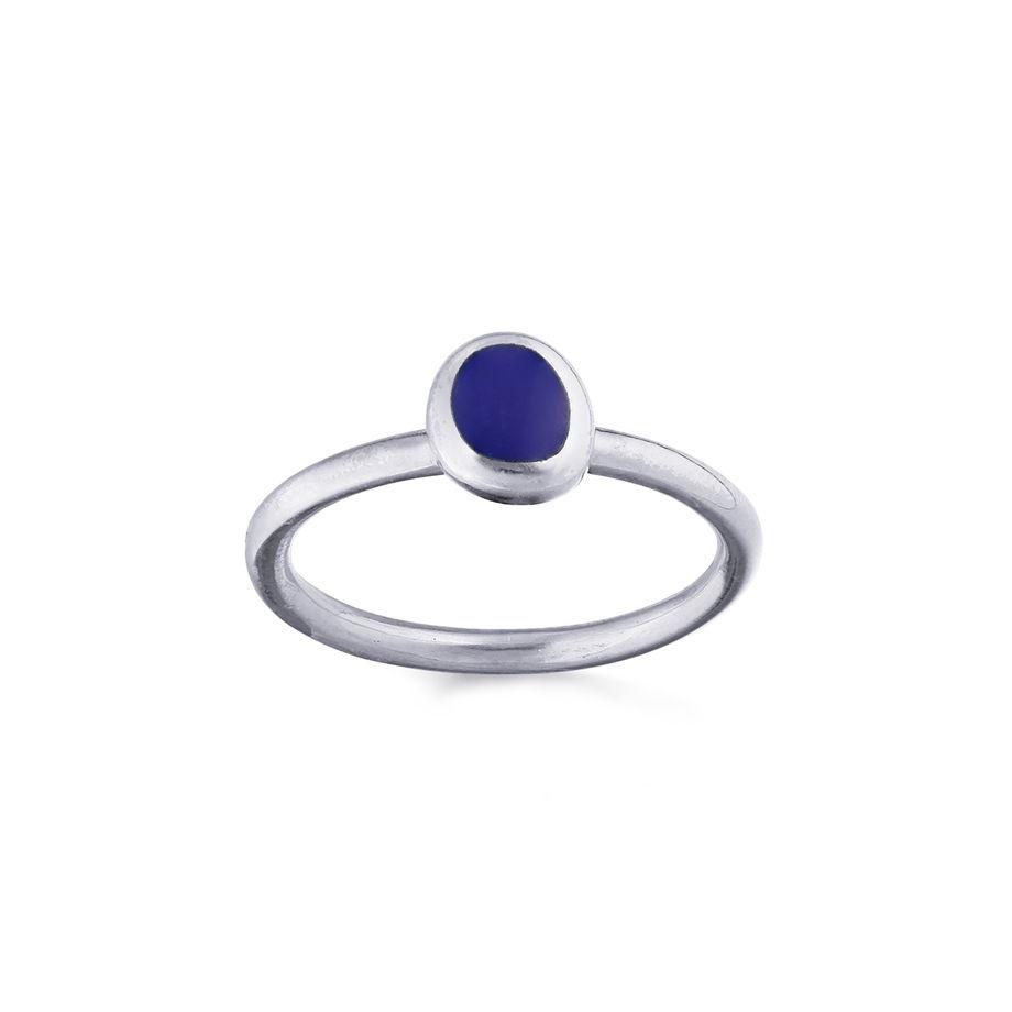 серебряные кольца confetti