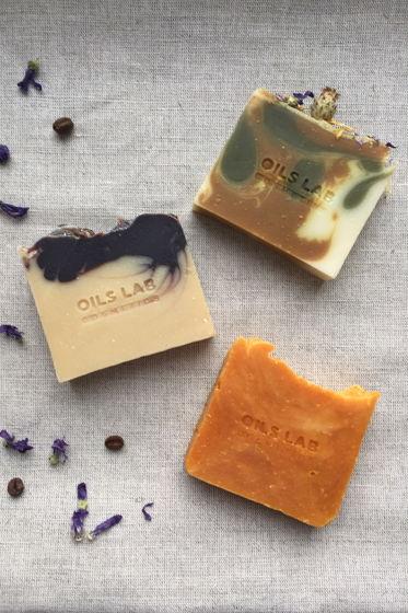 Подарочный набор натурального мыла