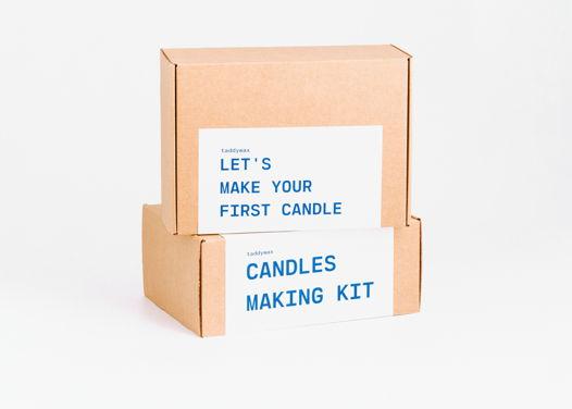 DIY набор для создания ароматических свечей