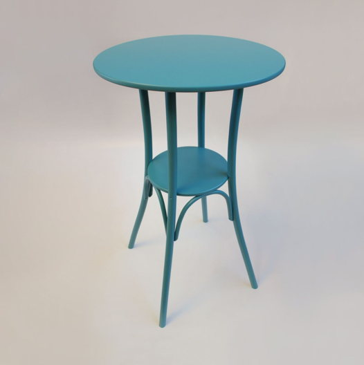 Барный стол, бирюзовый