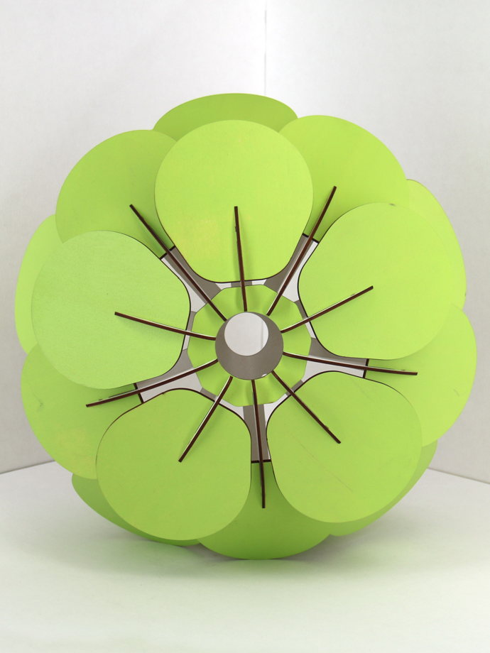 Umbra 45 зелёный абажур конструктор