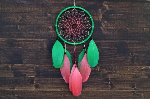 Ловец снов арбузной расцветки