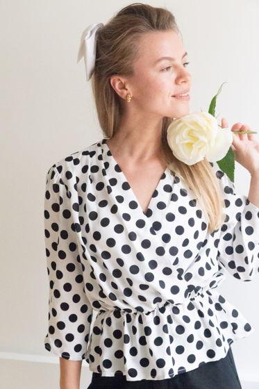 Блуза в горох «Sofie»