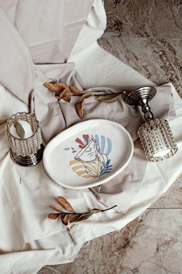 Керамическое блюдо «Полу Аполло»