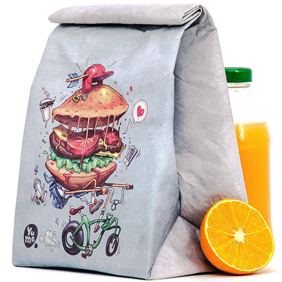 "Термосумка Youshi Lunch Bag ""Bikeburg"" от YuMe"