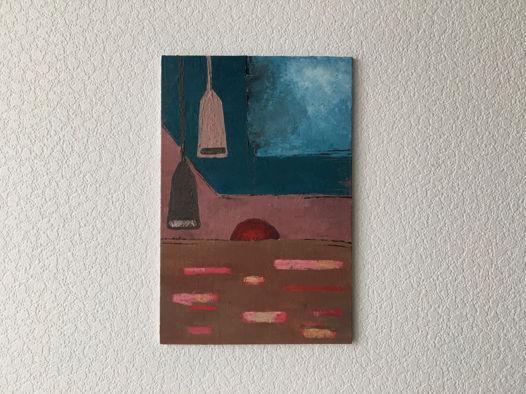 Картина «Закат», 20х30см