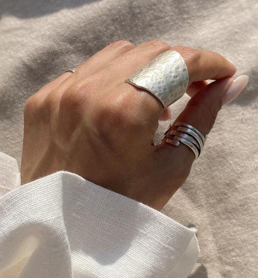 Кольцо ручной работы