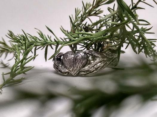 Кладдахское кольцо в эльфийском стиле, серебро, размер 15,5 - 20