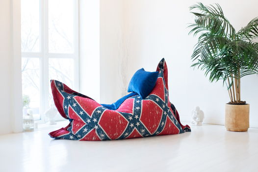 Бескаркасное кресло-подушка Jefferson's Pad