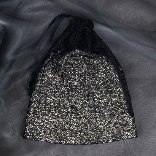 """Черный мешочек """"Аспарагус"""" для продуктов и хранения"""