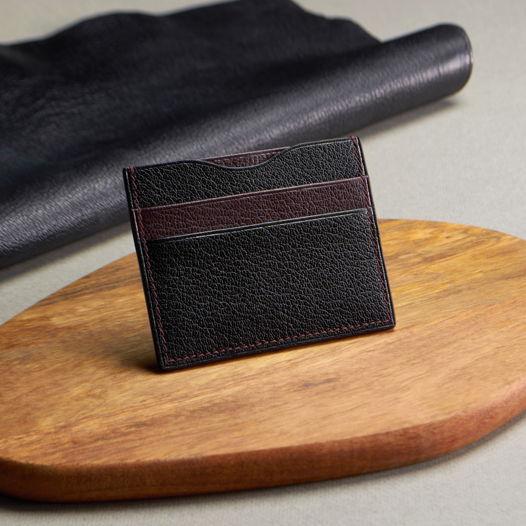 Картхолдер для карт и купюр из натуральной кожи