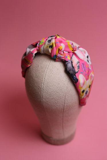 Ободок для волос для любителей Французских бульдогов