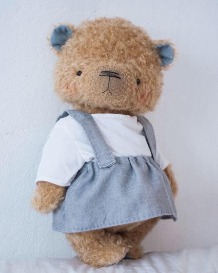 Мишка тедди Маруся