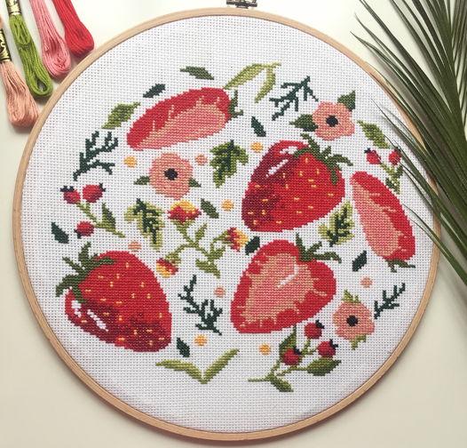 Настенное панно «Сладкая ягодка»