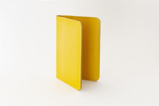 Обложка для документов | докхолдер желтая
