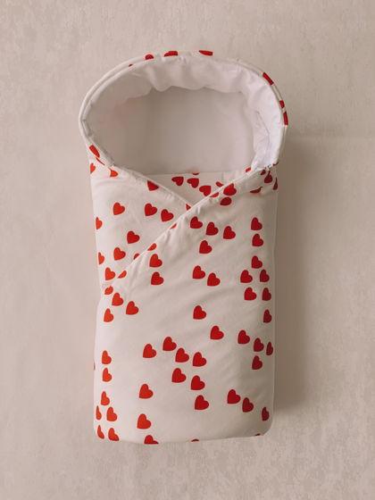 Конверт-одеяло на выписку для девочки.