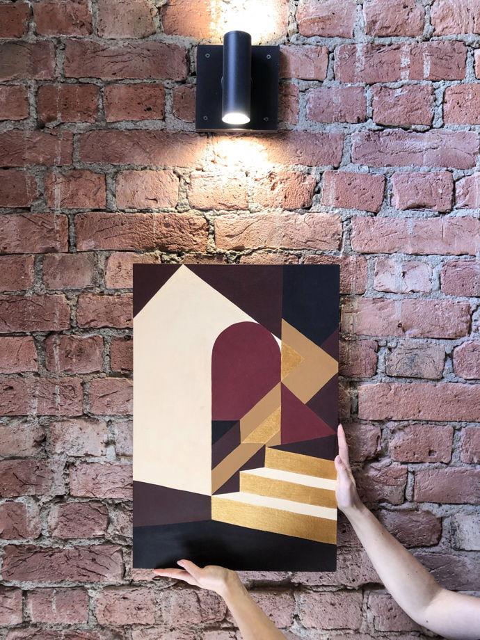 "Картина абстрактная ""Марокко"" 40х60 см"