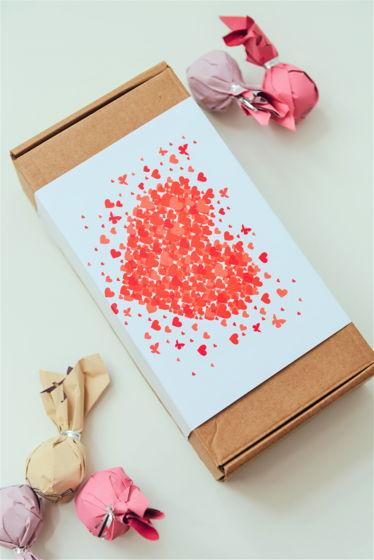"""Подарочные наборы пп-конфет """"Сердце"""" (15шт), 300гр"""