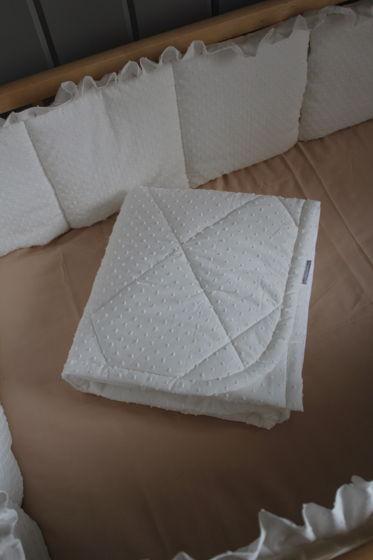 Двустороннее одеяло в кроватку. Размер 90/120см