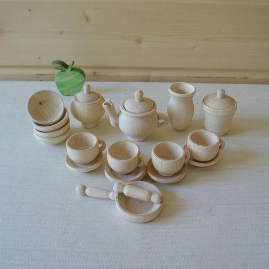 Набор посуды Белый