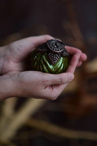 Винтажный ёлочный шар