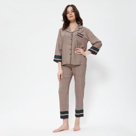 "Пижама ""Ифран"" коричневая"