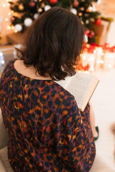Свободное платье А-силуэта из вискозы
