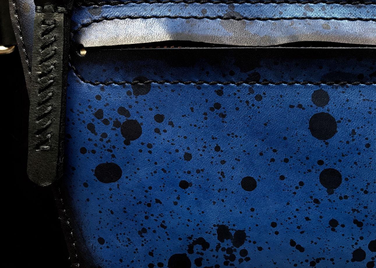 Сумка на пояс из натуральной кожи bem18