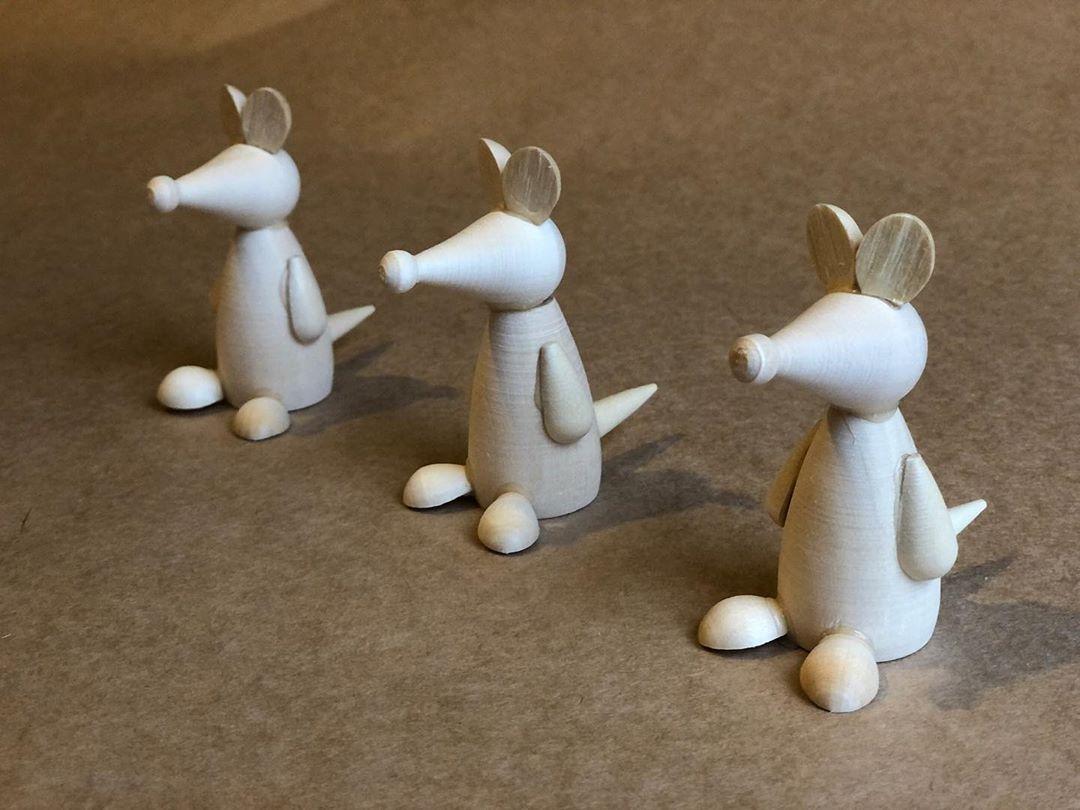 Фигурки животных деревянные и символ года