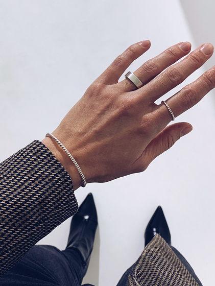 Серебряное кольцо ВИТКИ