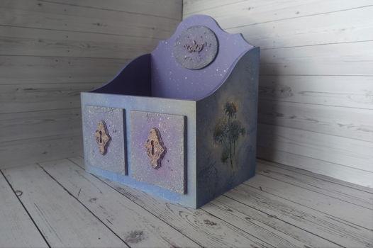 Короб деревянный для хранения