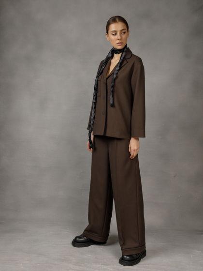 Костюм с широкими брюками Pulvis