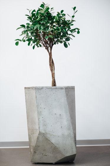 Вазон из бетона ICEBERG 5