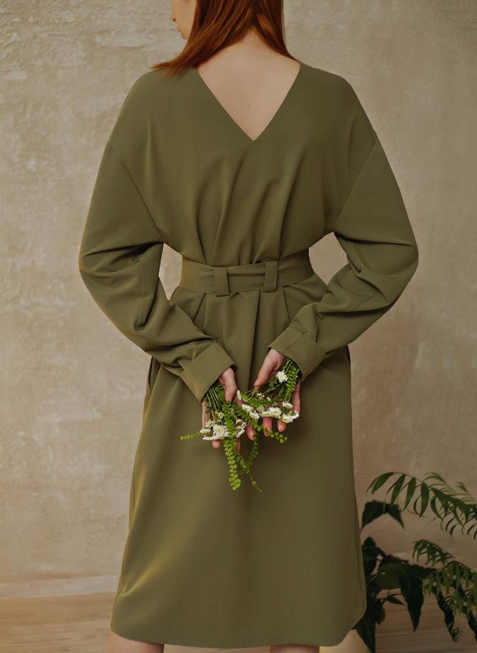 """Платье с удлиненными рукавами """"natūra"""""""
